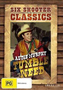 TumbleWeed : Audie Murphy : NEW DVD