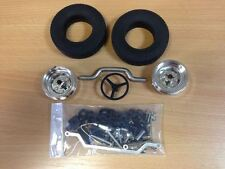 Wedico 1/16th Truck Front Axle set Complete.