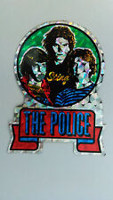 The Police Sting vintage retro sticker Pop music group