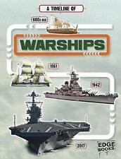 A Timeline of Warships by Tim Cooke (Hardback, 2017)
