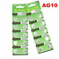 10pcs AG10  LR1130 389 LR54 L1131 189 Watch Button Coin Cell Battery 1.5V