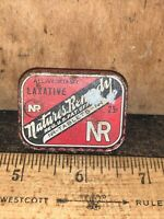 Antique Vintage Advertising Tin Box Medical Medicine NATURES REMEDY Laxative