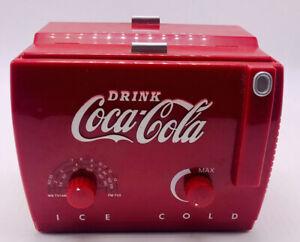Coca Cola Old Time Cooler Vintage AM/FM Weather Band Radio