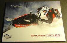 New listing 2011 POLARIS SNOWMOBILE SALES BROCHURE FULL LINE 52 PAGES NICE    (443)