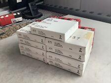 3M SCOTCH 471 PLASTIC TAPE WHITE 1/2IN X 36YD 777 - LOT OF 18