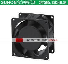 Original SUNON AC fan SF11580A 1083HBL.GN 115V0.15/0.13A 2months warranty