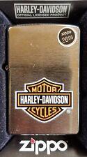 New! ZIPPO Classic Windproof Lighter - 13252 Harley Davidson Logo