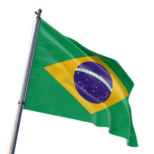 3x5 Foot Brazil Flag Brazilian National Flags Polyester 3X5 Ft Outdoor Indoor