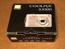 Nikon COOLPIX S3300 16.0MP Digital Camera (NICE)
