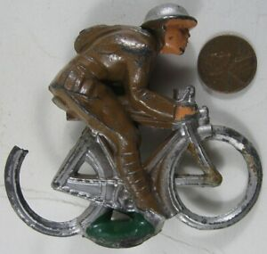 1930's Cast lead Soldier On Bicycle