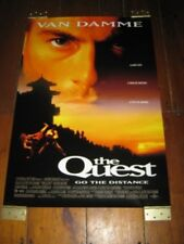THE QUEST Original POSTER - 27 X 40 2 SIDED