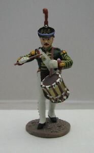 "Eaglemoss metal toy soldiers Napoleonic Wars Bat. Drummer of Life Guard 2,36"" E7"