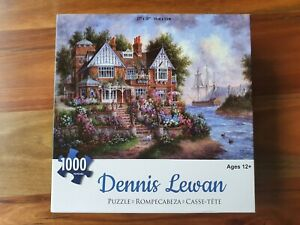 The Art of Dennis Lewan 1000 piece Jigsaw Puzzle - as new