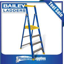 Bailey Platform Ladder P150 1.2m 4-Step Fiberglass Stepladder FS13577