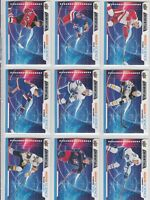 2019-20 UPPER DECK CREDENTIALS ROOKIE SCIENCE lot of 21 DIFFERENTS CARDS LOT22 a