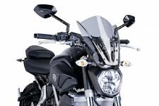 PUIG Naked Touring Windscreen - Smoke 7016H YAMAHA FZ-07 2015