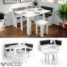 VICCO Roman Eckbankgruppe - Weiß (1-4OW-25913)