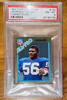 🔥1982 Lawrence Taylor TOPPS ROOKIE GOLD STICKERS COMING SOON PSA 8💎BGS RARE RC