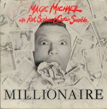 Magic Michael With Rat Scabies & Captain Sensible-Millionaire /Rare UK 7''MAGIC1