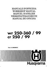 Honda Cr250 Service Manual In Parts Accessories Ebay