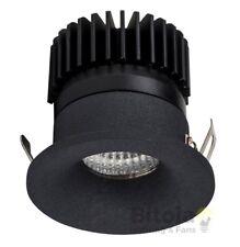 NEW HAVIT HV5702W-BLK NICHE MINI BLACK ROUND 3w LED DOWNLIGHT - WARM 3000K