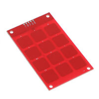 Red Capacitive Touch Keypad Module for I2C Interface 3*4 12 Keys for Arduino