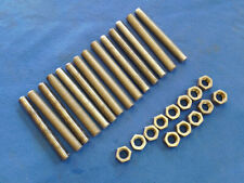 "(14) 3/4""-16 X 6"" Stainless Steel Threaded Rods & (13) Nuts"