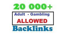 20000 Mega Blog Comments Blast!Live Backlinks.Adult,Gambling,Escorts ALLOWED !