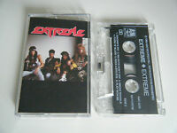 EXTREME S/T SELF TITLED CASSETTE TAPE ALBUM A&M 1989