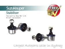 2 Front Left + Right Sway Bar Link Kit Hyundai Accent 99-06 Stabiliser Pair