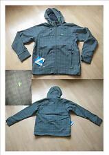 Super Softshell Jacke in grau/grün Gr. M  NEU  Top!!