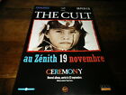 THE CULT - Publicité de magazine / Advert CEREMONY !!!!!!!!!!
