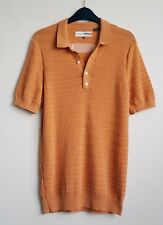 BEN SHERMAN PLECTRUM PEACHY ORANGE MENS TSHIRT TOP MOD STYLE SIZE M
