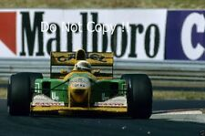 MARTIN BRUNDLE BENETTON B192 F1 Stagione 1992 foto 2