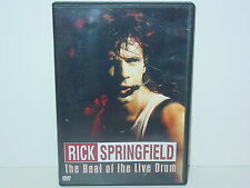 "*** DVD-Rick Springfield ""the Beat of the live Drum"" -2008 Lightyear Entertainm. ***"