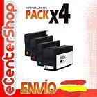 4 Cartuchos de Tinta NON-OEM 950/951XL - HP Officejet Pro 8600