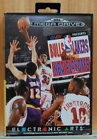 Bulls Vs Lakers Et The Playoffs NBA - Sega Mega Drive - Version Espagne