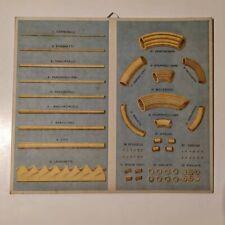 Cartonato Pubblicitario Anni '20 Pasta Pubblicità Antica