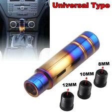 Universal Blue+Golden Aluminum Car Gear Shift Lever Knob Stick Shifter Kit 13CM