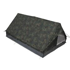 MFH Tent Military Camping Excursions Tent Minipack 2 People Woodland
