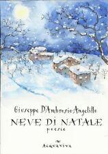 Giuseppe D'Ambrosio Angelillo NEVE DI NATALE, poesie
