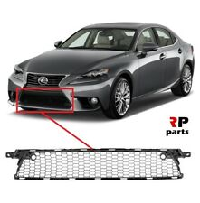 FOR LEXUS IS250 IS350 2013 - 2008 NEW FRONT BUMPER LOWER CENTER GRILL BLACK