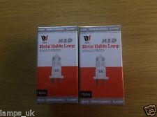 2x HTI150 metal halide lamp UK stock martin scan nsd 150 nsk150 css150 dj hti150