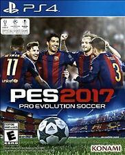 Pro Evolution Soccer 2017 Sony PlayStation 4 Video Game, Brand New, Sealed