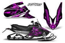 Yamaha APEX XTX Decal Wrap Graphic Kit Sled Snowmobile 2006-2011 NIGHTWOLF PINK
