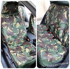 Daihatsu YRV  - Camouflage Waterproof Car Seat Covers - Full Set