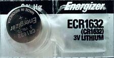 1 Piece FRESH ENERGIZER CR1632 ECR1632 1632 3V Lithium Coin Battery Expire 2025