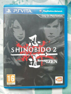 Shinobido 2: Revenge of Zen Sony PS Vita Complete