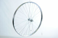 28 x 1 1/2 FRONT WHEEL VINTAGE Roadster BICI Westwood CHROME RIM Rod BRAKE NUOVE