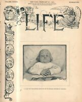 1901 Life February 21 - George Washington's measles; Carnegie gives away fortune